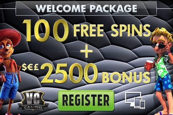 vegascrest free spins