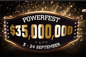 Play in PartyPoker's PowerFest, one of the biggest online poker tourneys